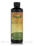 Certified Organic Hemp Oil 16.9 fl. oz (500 ml) (F)