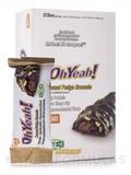 Oh Yeah! Good Grab Bar Almond Fudge Brownie - Box of 12 Bars (1.59 oz / 45 Grams each)