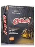 Oh Yeah! Original Bar Chocolate & Caramel - Box of 12 Bars (3 oz / 85 Grams Each)