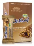 Oh Yeah! Good Grab Bar Peanut Butter & Caramel - Box of 12 Bars