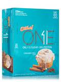Oh Yeah! One Bar Cinnamon Roll Flavor - Box of 12 Bars (2.12 oz / 60 Grams each)
