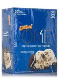 Oh Yeah! One Bar Cookies & Créme Flavor - Box of 12 Bars (2.12 oz / 60 Grams each)