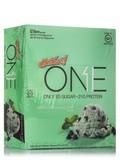 Oh Yeah! One Bar Mint Chocolate Chip Flavor - Box of 12 Bars (2.12 oz / 60 Grams each)