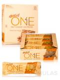 Oh Yeah! One Bar Peanut Butter Pie Flavor - Box of 12 Bars (2.12 oz / 60 Grams each)