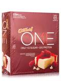 Oh Yeah! One Bar White Chocolate Raspberry - Box of 12 Bars (2.12 oz / 60 Grams each)