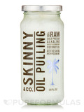 Oil Pulling - Coconut Oil with Peppermint - 16 fl. oz