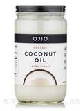 Ojio Coconut Oil - Extra Virgin, Organic - 32 oz (940 ml)