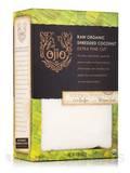 Ojio Raw Organic Shredded Coconut, Extra Fine Cut - 12 oz (341 Grams)