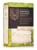 Ojio Raw Organic Shredded Coconut, Ribbon Cut - 12 oz (341 Grams)
