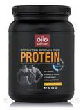 Ojio Sport Sprouted Brown Rice Protein Vanilla Flavor 30 Servings