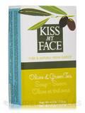 Olive & Green Tea Soap Bar - 4 oz (115 Grams)