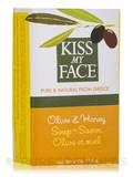 Olive & Honey Soap Bar - 4 oz (115 Grams)