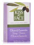 Olive & Lavender Soap Bar - 4 oz (115 Grams)