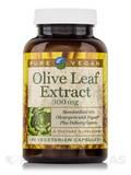 Olive Leaf Extract (18% Oleuropein) 300 mg - 90 Vegetarian Capsules