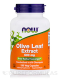 Olive Leaf Extract 500 mg - 120 Vegetarian Capsules
