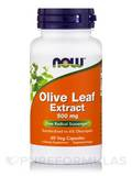 Olive Leaf Extract 500 mg - 60 Vegetarian Capsules
