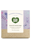 Olive Oil Castile Soap Bar - Lavender & Calendula - 3.8 oz (110 Grams)