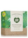 Olive Oil Castile Soap Bar - Cucumber & Green Tea - 3.8 oz (110 Grams)