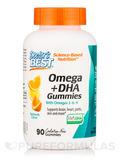 Omega + DHA Gummies, Citrus - 90 Gummies
