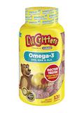 Omega-3 EPA, DHA & ALA Gummy, Raspberry Lemonade Flavor - 120 Gummies