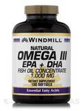 Omega 3 EPA & DHA Fish Oil 1000 mg - 180 Softgels