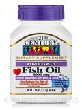 Omega 3 Fish Oil 1000 mg 60 Softgels
