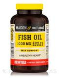 Omega-3 Fish Oil 1000 mg (Cholesterol-Free) - 200 Softgels