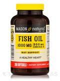 Fish Oil 1000 mg (300 mg Omega-3) - 200 Softgels