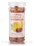 Omega-3 Gummy Fruits for Adults - 60 Count