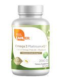 Omega 3 Platinum +D™ 2000 mg - 360 Softgels