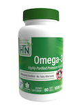 Omega-3 Premium Fish Oil 1000 mg (400 EPA / 200 DHA) - 60 Softgels
