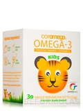 Omega-3 Squeeze Packets for Kids, Tropical Orange + Vitamin D - 30 Single Serving Packets (2.5 Grams