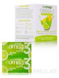 Omega-3 Squeeze Packets, Lemon Lime - 30 Single Serving Packets (2.5 Grams)
