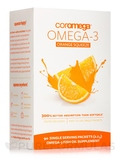 Omega-3 Squeeze Packets, Orange - 1 Box of 90 Single Serving Packets (2.5 Grams)