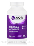 Omega 3 with Vitamin D3 - 180 Softgels