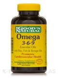 Omega 3-6-9 Essential Oils with Flax, Fish, Borage Oils 120 Softgels