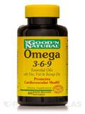 Omega 3-6-9 Essential Oils with Flax, Fish, Borage Oils 60 Softgels