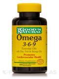 Omega 3-6-9 Essential Oils with Flax, Fish, Borage Oils - 60 Softgels