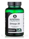 Omega 3D II, Natural Lemon Flavor - 60 Softgels