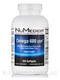 Omega 600 USP EC 120 Softgels