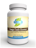Omega Daily Essentials with CoQ10 & Vitamin D3 - 240 Softgels