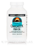Omega EPA Fish Oil 1000 mg 200 Softgels