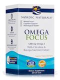 Omega Focus - 60 Soft Gels