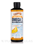 Omega Swirl Fish Oil with Vitamin D (Mango Peach) 16 oz (454 Grams)