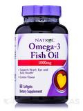 Omega-3 Fish Oil 1000 mg 60 Softgels