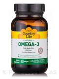 Omega-3 1000 mg Fish Oil 50 Softgels