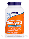 Omega-3 (Molecularly Distilled) (180 EPA / 120 DHA) - 200 Softgels