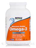 Omega-3 (Molecularly Distilled) - 500 Softgels