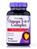 Omega 3-6-9 Complex - 60 Softgels