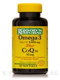 Omega-3 Plus CoQ-10 30 mg - 50 Softgels